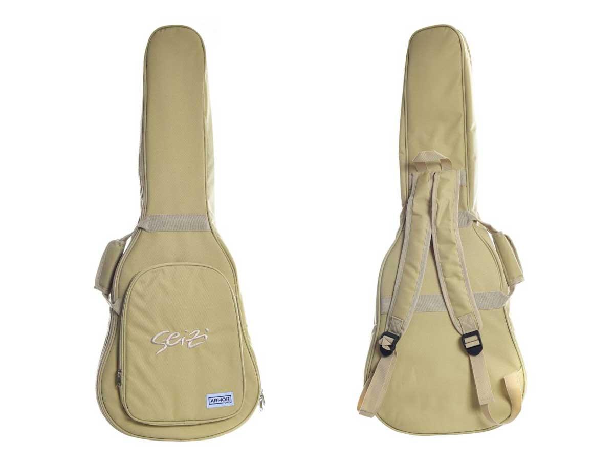 Violão 12 Cordas Seizi Kyoto 12 Eletroacústico com Bag