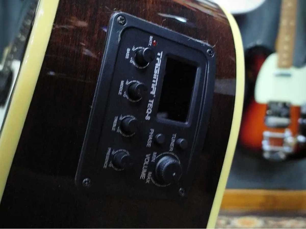 Violão Baby Tagima Eletroacústico WS-40