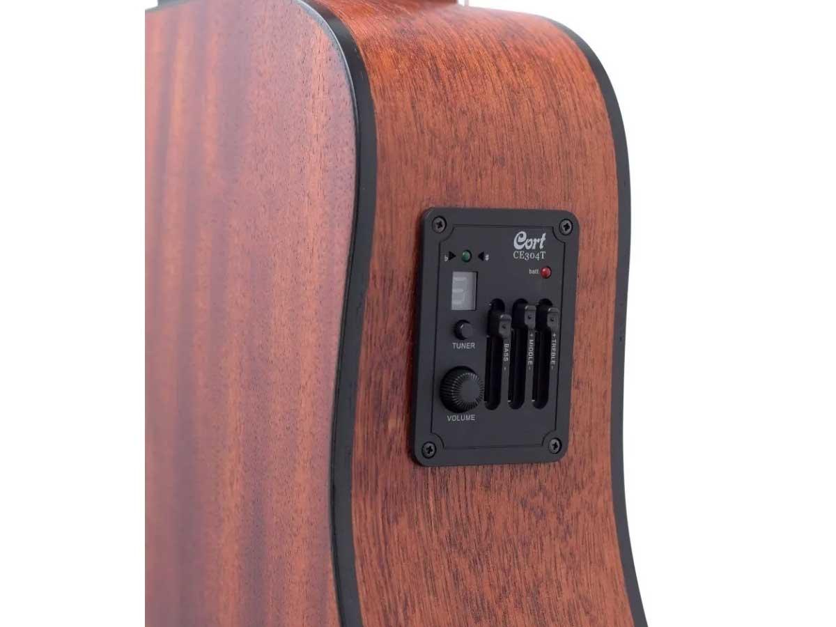 Violão Cort AD Mini E OP/B Eletroacústico