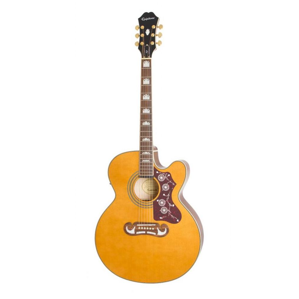 Violão Epiphone EJ200 SCE Gold Vintage Natural 10030687 *