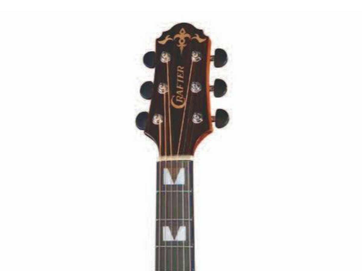 Violão Folk Crafter HD-520CE/N Natural Brilhante Cutway Aço