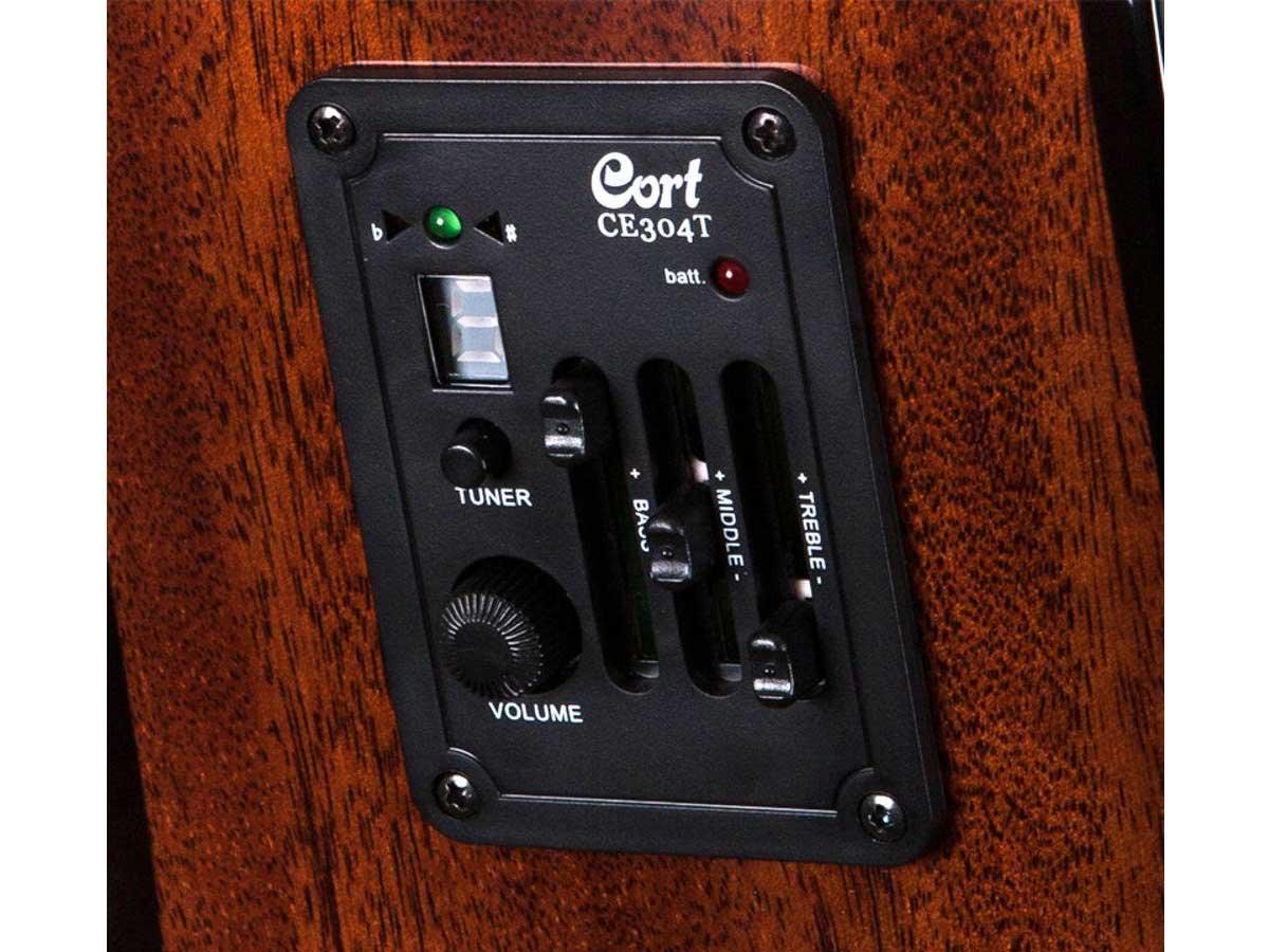 Violão Cort AD 880CE NS/B Natural Folk Eletroacústico