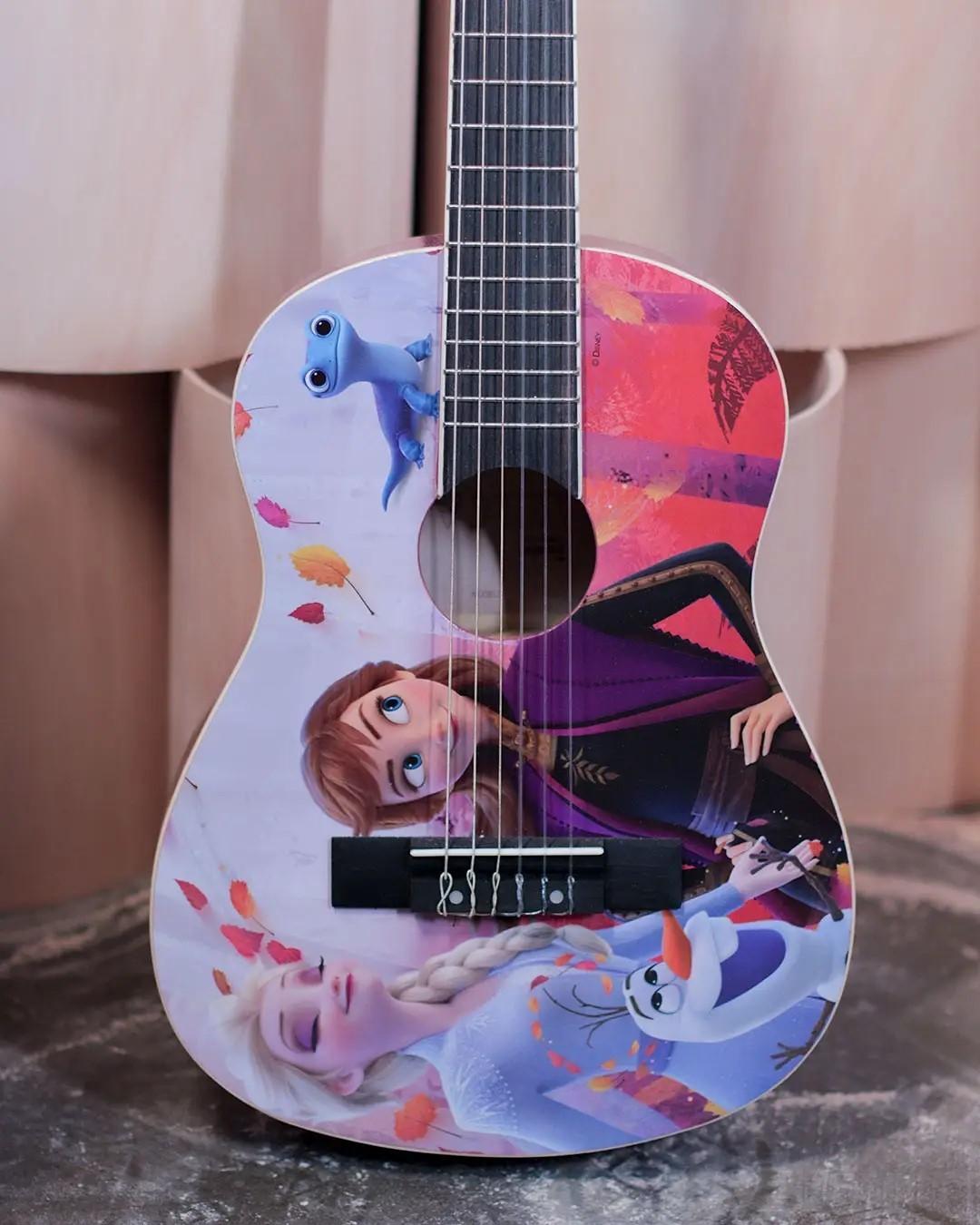 Violão Infantil PHX Disney Frozen 2 Elsa, Anna e Olaf - VIF-3