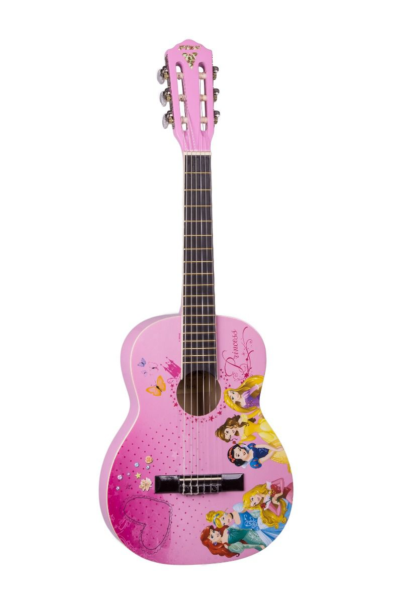 Violão Infantil PHX Disney Princesas True Princess