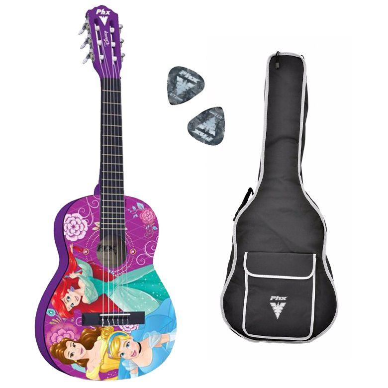Violão Infantil PHX Disney Princess