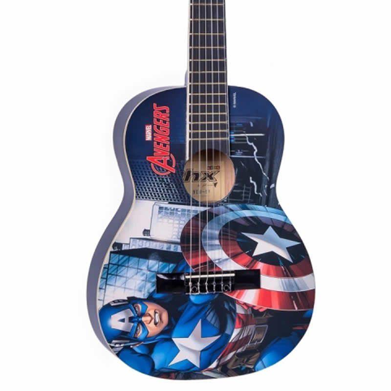 Violão Infantil PHX Marvel Capitão América