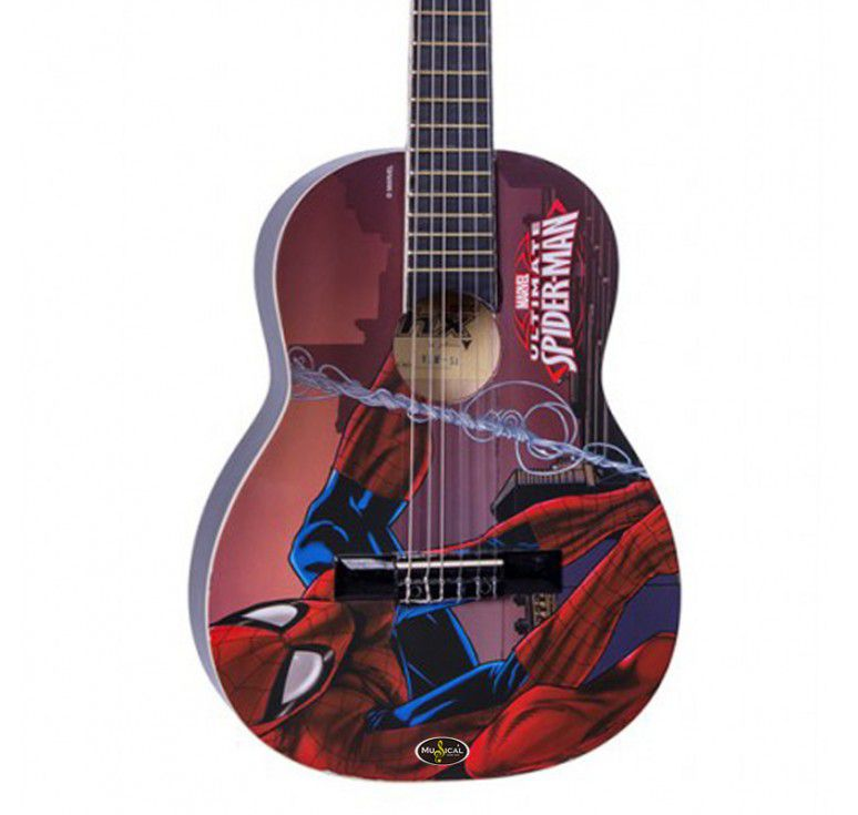 Violão Infantil PHX Marvel Homem Aranha