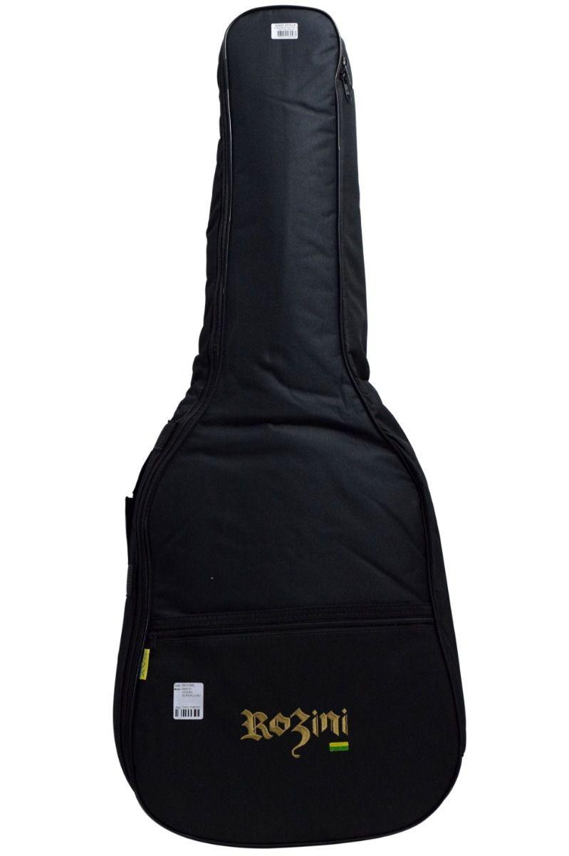 Violão Premium Mini Rozini RX120.AT.N.LP