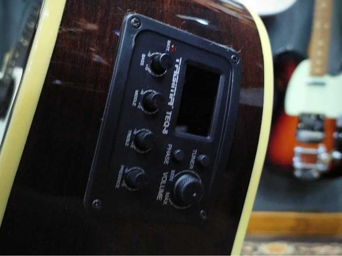 Violão Tagima Eletroacústico Jumbo Cutaway WS-30