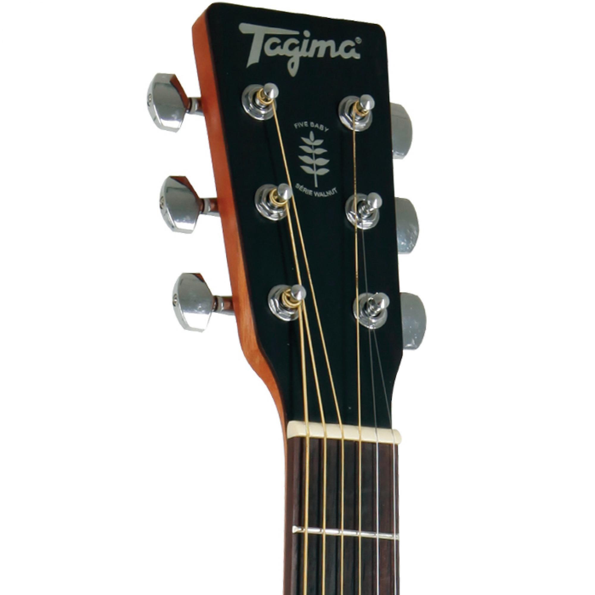 Violão Tagima Walnut Two Folk Natural Eletroacústico