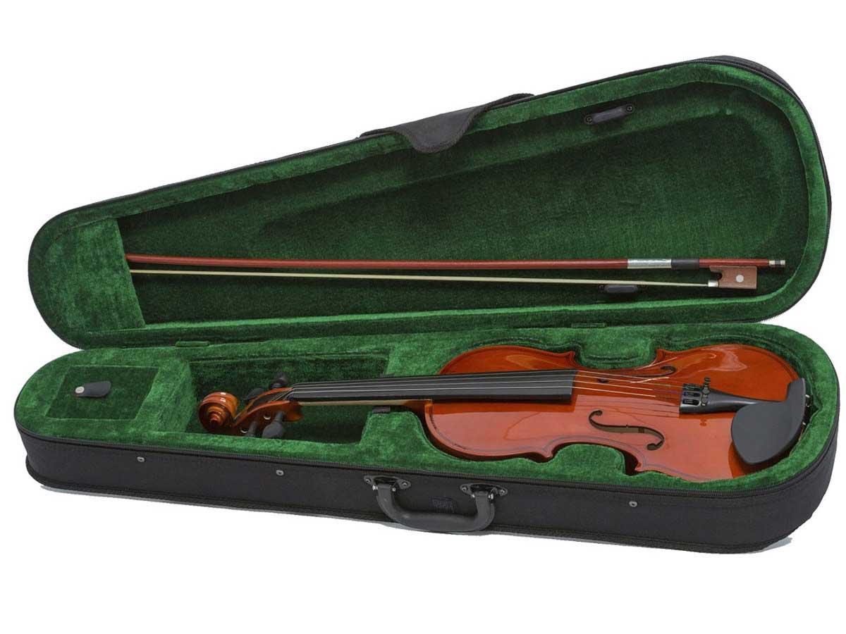 Violino Giannini SV 3/4 com Estojo, Arco e Breu