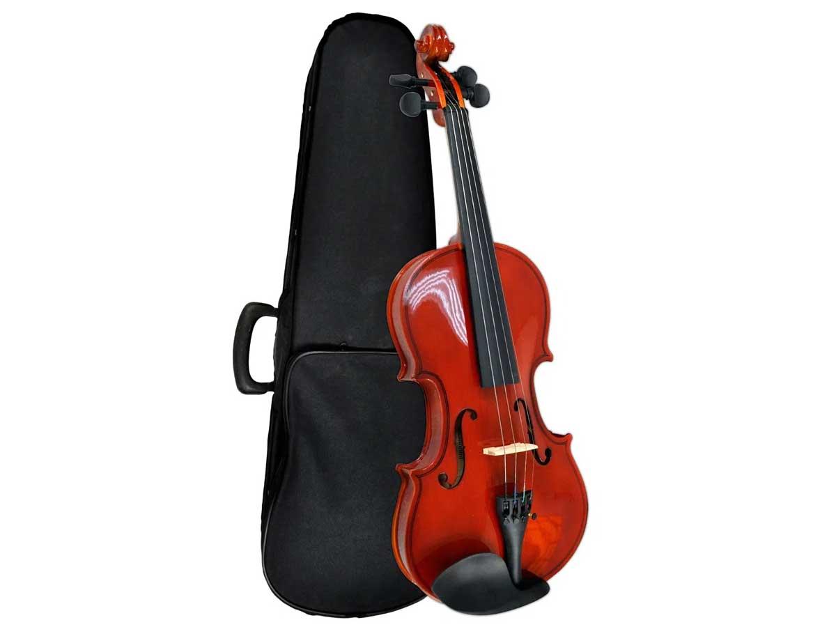 Violino Giannini SV 4/4 com Estojo, Arco e Breu