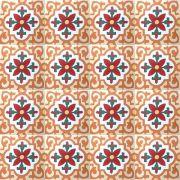 Adesivo para Azulejo Ladrilho Hidráulico Alméria Vinil 15x15cm 16 peças Cosi Dimora