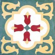 Adesivo para Azulejo Ladrilho Hidráulico Gibraltar Vinil 15x15cm 16 peças Cosi Dimora