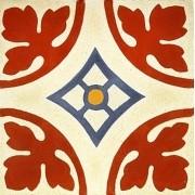 Adesivo para Azulejo Ladrilho Hidráulico Palma 15x15cm 16 peças Cosi Dimora