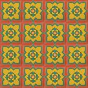 Adesivo para Azulejo Ladrilho Hidráulico Pamplona Vinil 15x15cm 16 peças Cosi Dimora