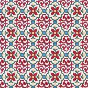 Adesivo para Azulejo Ladrilho Hidráulico Tarragona Vinil 15x15cm 16 peças Cosi Dimora