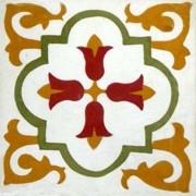 Adesivo para Azulejo Ladrilho Hidráulico Tenerife 15x15cm 16 peças Cosi Dimora
