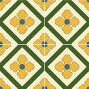 Adesivo para Azulejo Ladrilho Hidráulico Valverde 15x15cm 16 peças Cosi Dimora