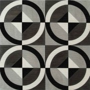 Adesivo para Azulejo Moderno Botões 15x15cm 16 peças Cosi Dimora