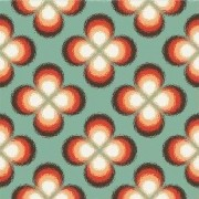 Adesivo para Azulejo Moderno Floral 15x15cm 16 peças Cosi Dimora