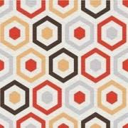 Adesivo para Azulejo Moderno Sextavado 15x15cm 16 peças Cosi Dimora