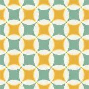 Adesivo para Azulejo Moderno Tela Vinil 15x15cm 16 peças Cosi Dimora