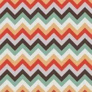 Adesivo para Azulejo Moderno Zig Zag 15x15cm 16 peças Cosi Dimora
