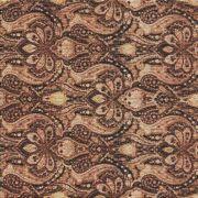 Adesivo para Azulejo Patchwork Flor Marrom Vinil 15x15cm 16 peças Cosi Dimora