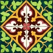 Adesivo para Azulejo Português Aveiro 15x15cm 16 peças Cosi Dimora