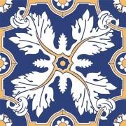 Adesivo para Azulejo Português Borba 15x15cm 16 peças Cosi Dimora