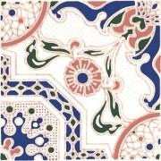 Adesivo para Azulejo Português Braga 15x15cm 16 peças Cosi Dimora
