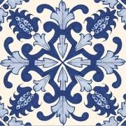 Adesivo para Azulejo Português Chaves 15x15cm 16 peças Cosi Dimora