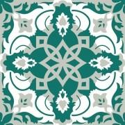 Adesivo para Azulejo Português Lagoa 15x15cm 16 peças Cosi Dimora