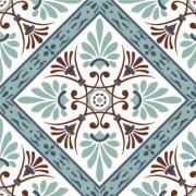 Adesivo para Azulejo Português Maia 15x15cm 16 peças Cosi Dimora