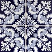 Adesivo para Azulejo Português Porto 15x15cm 16 peças Cosi Dimora