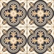 Adesivo para Azulejo Português Queluz 15x15cm 16 peças Cosi Dimora
