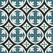 Adesivo para Azulejo Português Serpa 15x15cm 16 peças Cosi Dimora