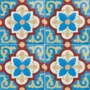 Adesivo para Azulejo Português Setúbal 15x15cm 16 peças Cosi Dimora
