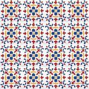 Adesivo para Azulejo Português Valbom Vinil 15x15cm 16 peças Cosi Dimora