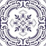 Adesivo para Azulejo Português Viseu 15x15cm 16 peças Cosi Dimora