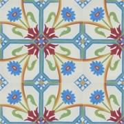 Adesivo para Azulejo Português Vizela 15x15cm 16 peças Cosi Dimora