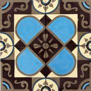 Adesivo para Azulejo Retrô Chaveco Vinil 15x15cm 16 peças Cosi Dimora