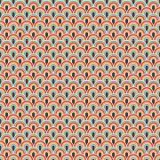 Adesivo para Azulejo Retrô Muvuca Vinil 15x15cm 16 peças Cosi Dimora