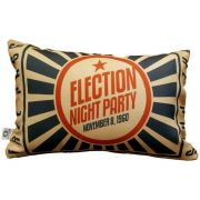 Almofada Cinema Ticket Night Party 25x35cm Cosi Dimora