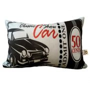 Almofada Classic Show Car 25x35cm Cosi Dimora