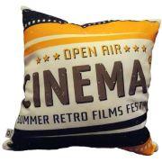 Capa de Almofada Cinema Open Air 40x40cm Cosi Dimora