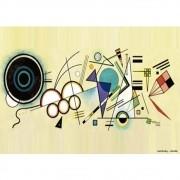 Pôster Decorativo A4 Doodle - Kandinsky Cosi Dimora