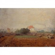 Pôster Decorativo A4 Fog 1872 - Claude Monet - Cosi Dimora