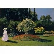 Pôster Decorativo A4 Jeanne Marguerite Lecadre in the Garden - Claude Monet Cosi Dimora